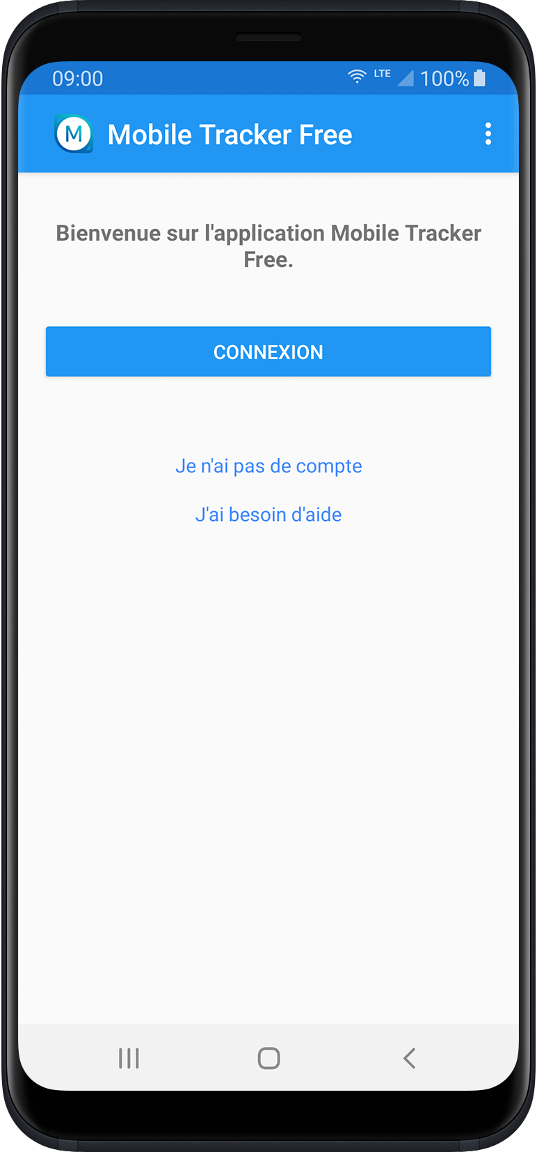 Guide d'installation   Mobile Tracker Free